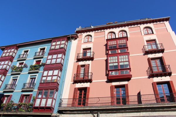 architecture Bilbao, quartier historique, 7 calles, historical city of Bilbao