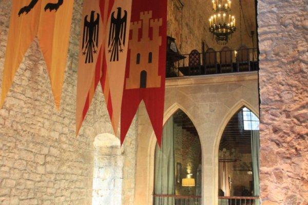 château charles 5, carlos quint, castle of charles V, hondarribia, fontarrabie, paradores, hôtel paradores