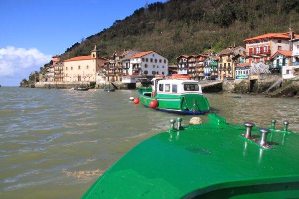 pasaia, pasajes, victor hugo, village de pêcheurs au pays basque, baleinier San Juan, navette fluvial, port historique de saint sébastien, marquis lafayette, trainière, san juan, san pedro