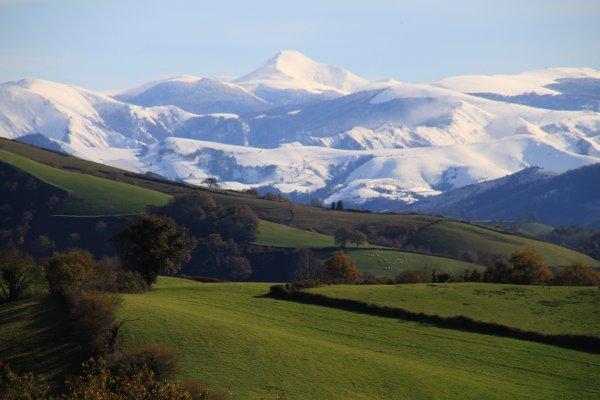 pic d'orhy-basque landscape-paysage de montagnes basques-neige-hiver-winter-snow
