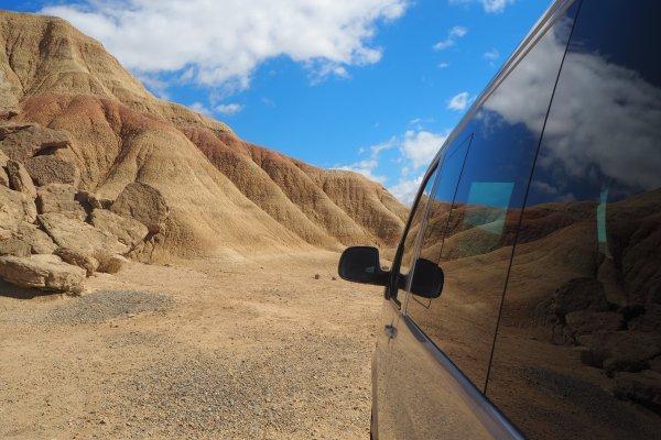 VISITE EN MINIBUS DANS LE DÉSERT DES BARDENAS, excursion dans le désert des bardenas