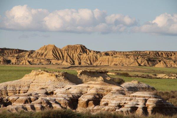 Un voyage dands le temps, hors des sentiers battus, 2em plus grand désert d'europe, las bardenas reales, bardenas desert