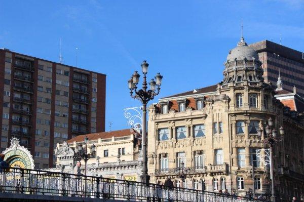 Bilbao, gare la Concordia, Bibliothèque, Concordia station, architecture de Bilbao, transformation urbanistique, Bilbao destination touristique, Bilbao tourist destination