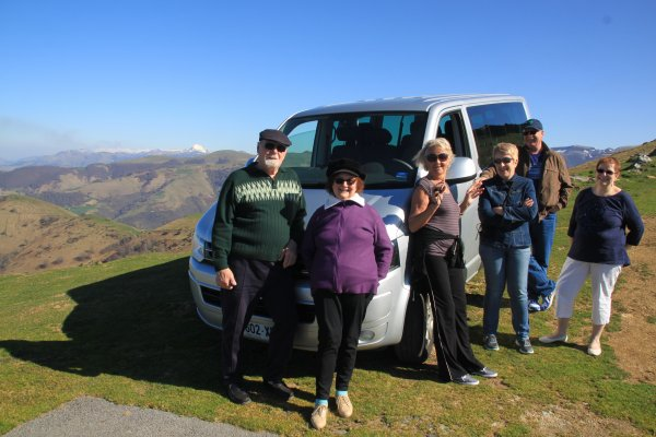 TRANSPORT AU PAYS BASQUE AVEC GUIDE
